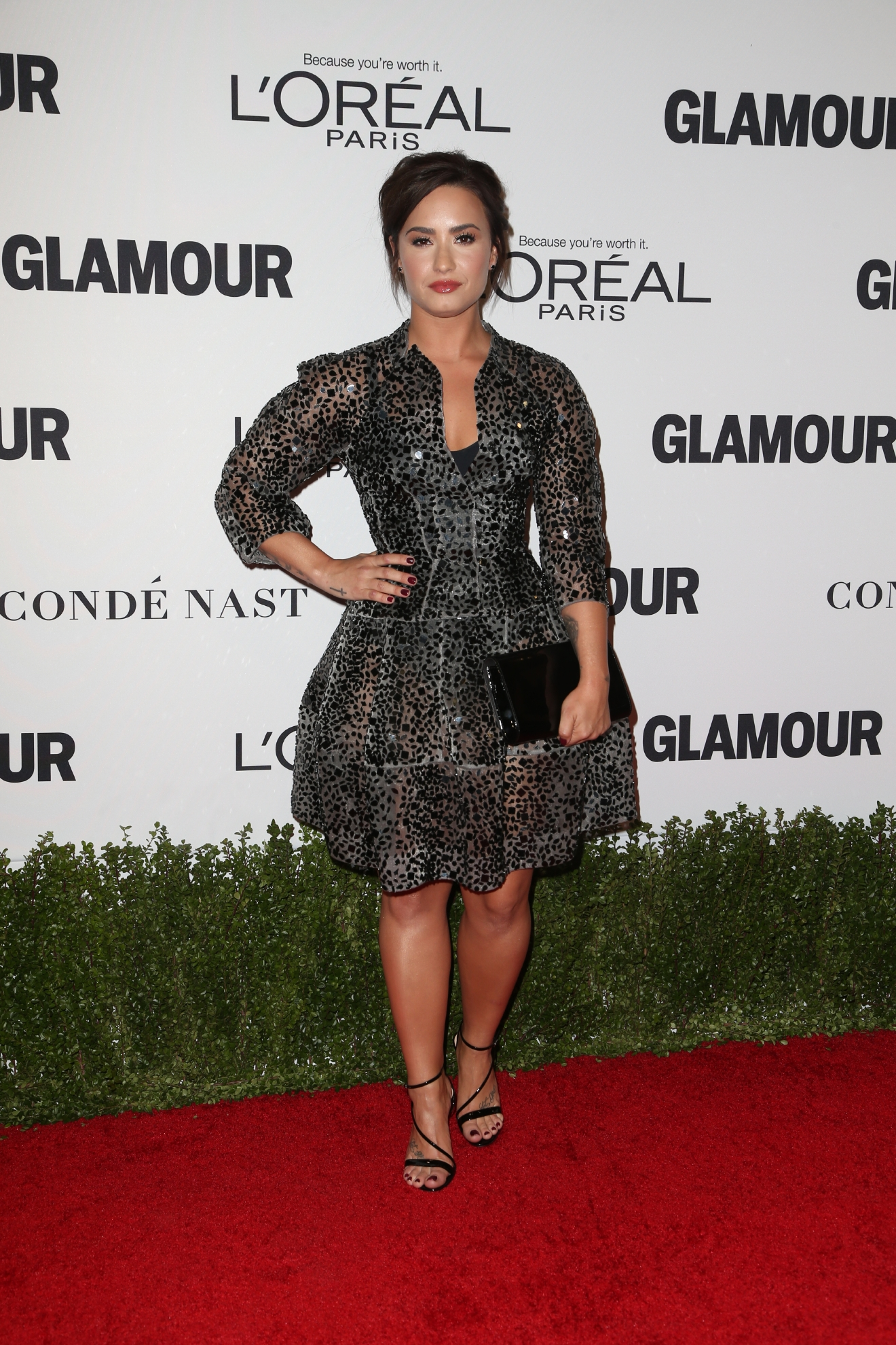 Glamour Women Of The Year 2016 Awards                                    Featuring: Demi Lovato                  Where: Los Angeles, California, United States                  When: 15 Nov 2016                  Credit: FayesVision/WENN.com
