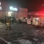 SUV hits several cars, crashes into O'Reilly Auto Parts in South Bend