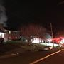 Officials: Shed causes fire at Lynchburg home, firefighter suffers minor injury