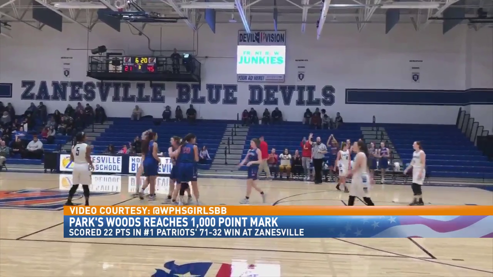 1.29.20 Video - Park's Woods reaches 1,000 point mark in win at Zanesville