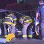 5 injured after car runs stop sign, slams into Seattle police cruiser