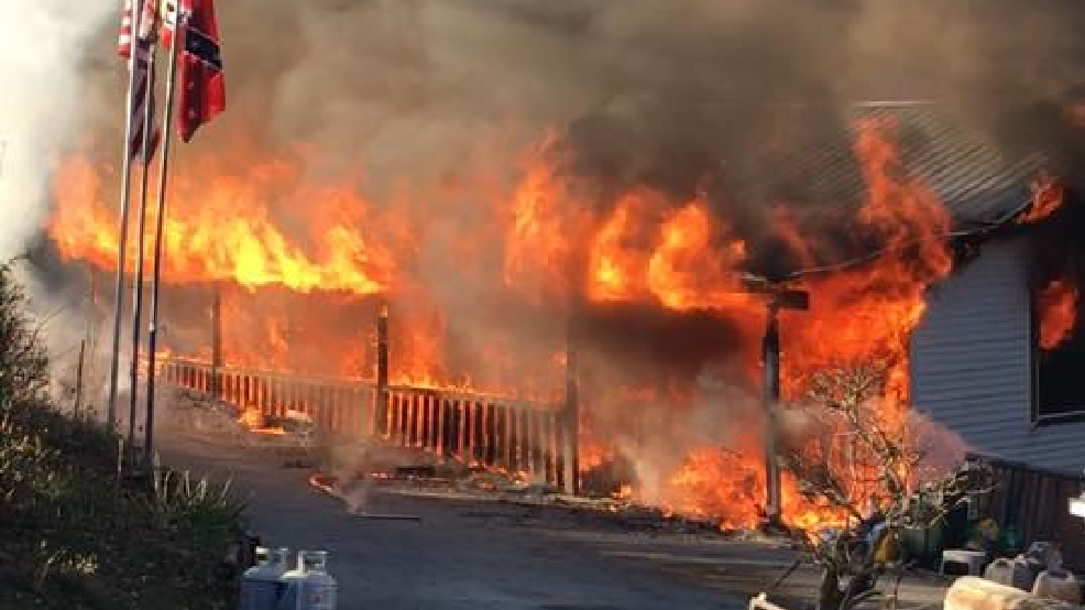 Firefighters Battling House Fire On Sluder Lane In Soddy Daisy Wtvc