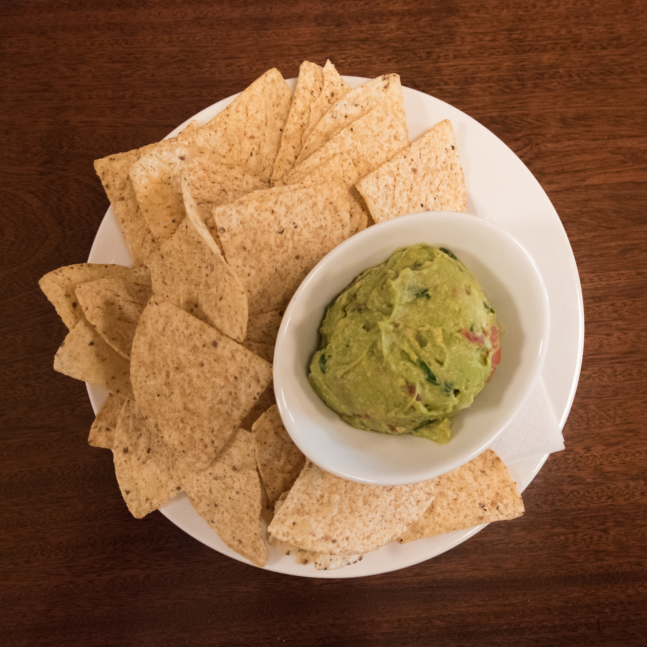 House guacamole and chips / Image: Phil Armstrong, Cincinnati Refined // Published: 6.6.17