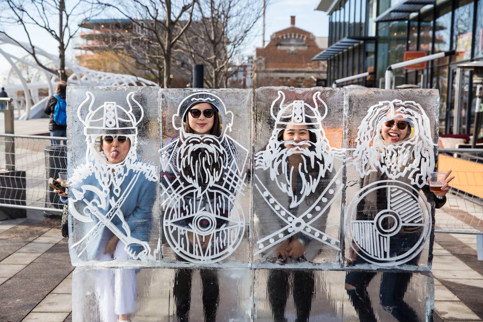 Now in its fifth year, Ice Yards has become the event of the winter season, with thousands enjoying an unparalleled afternoon in D.C.'s only adult-friendly winter wonderland. (Image: Courtesy Ice Yards)