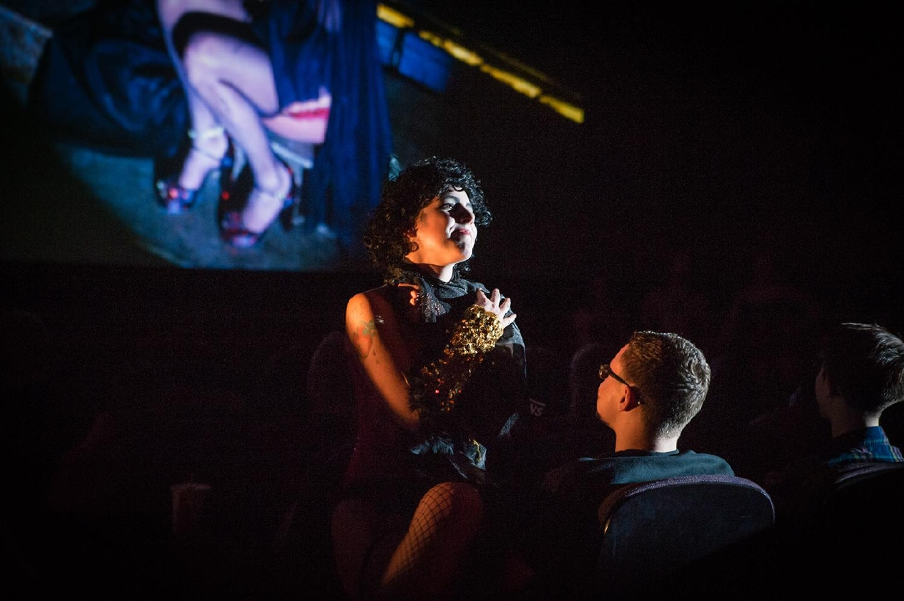 Dr. Frankenfurter serenades the audience. / Image: Melissa Doss Sliney