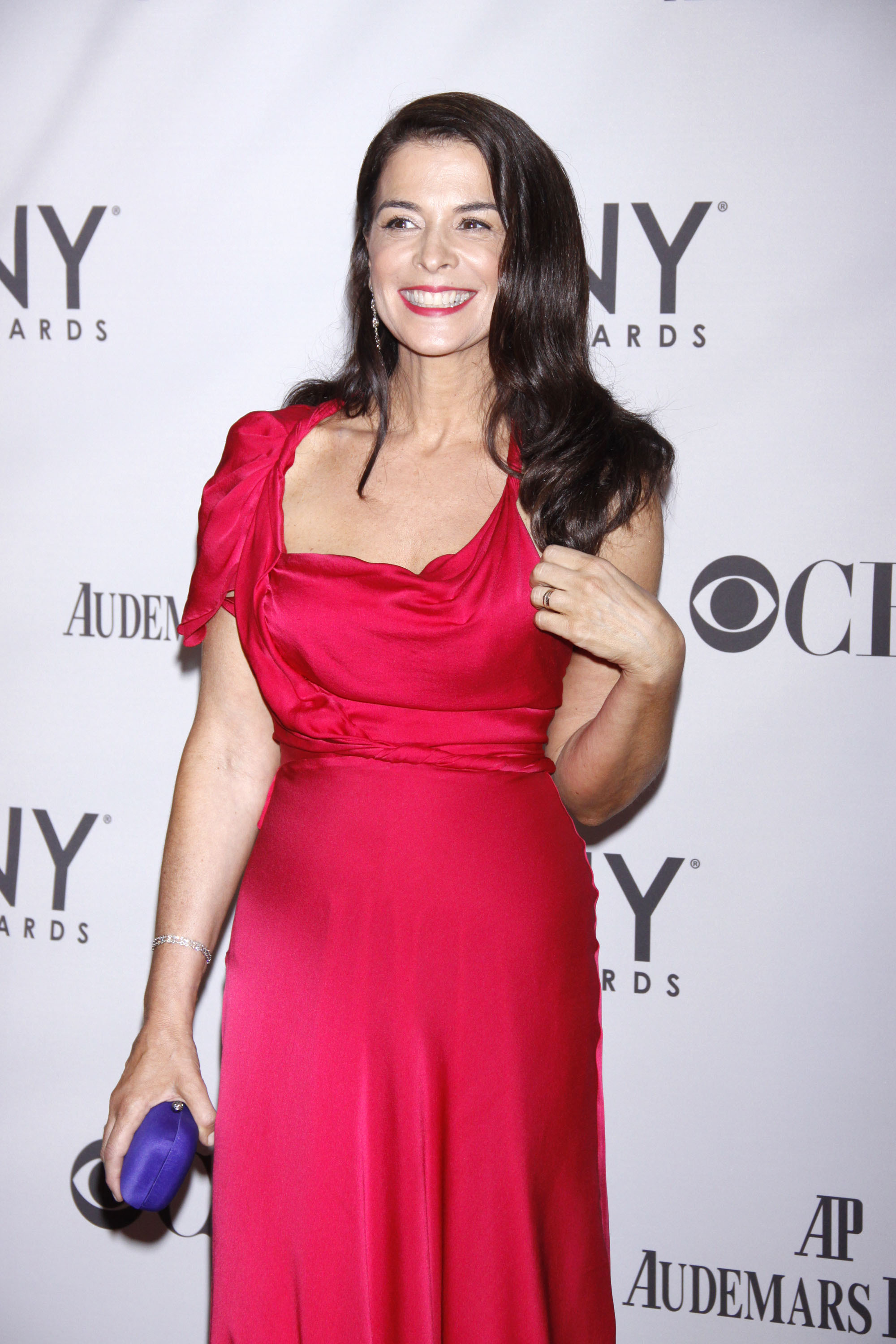 Annabella Sciorra at the 65th Annual Tony Awards, held at Beacon Theatre in New York City on June 12,  2011. (Joseph Marzullo/Wenn.com)