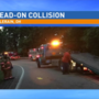 Head-on collision sends multiple people to the hospital