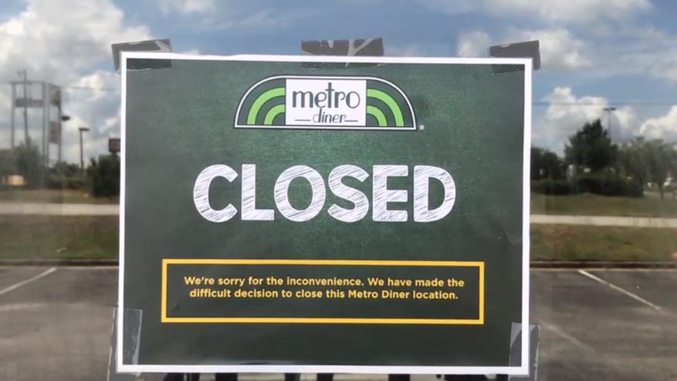 Metro Diner in north Macon has closed