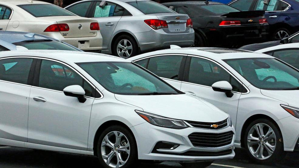 Us Auto Sales Fall For 5th Straight Month In May Wztv
