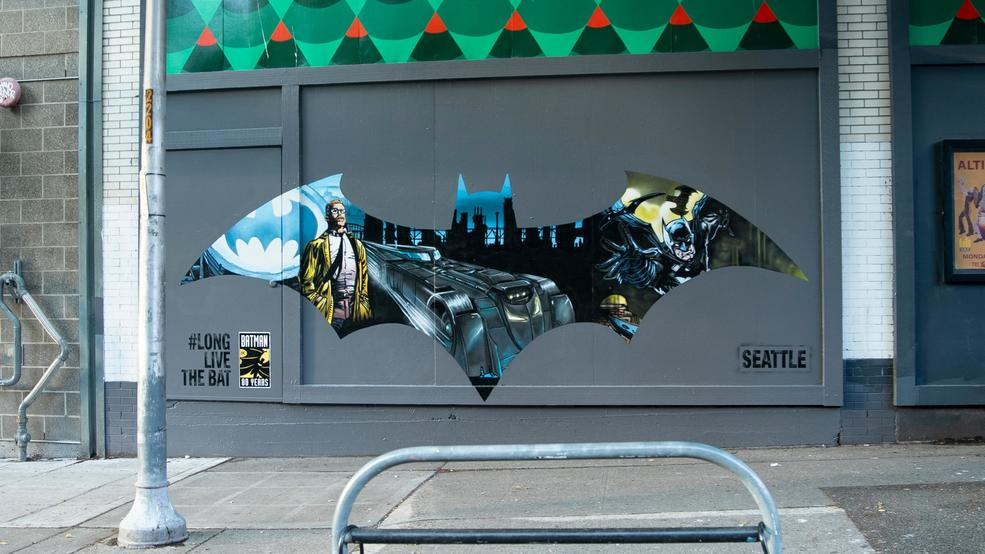 Photos: DC Commemorates 80 Years Of Batman With Mural Art Series In Major Cities