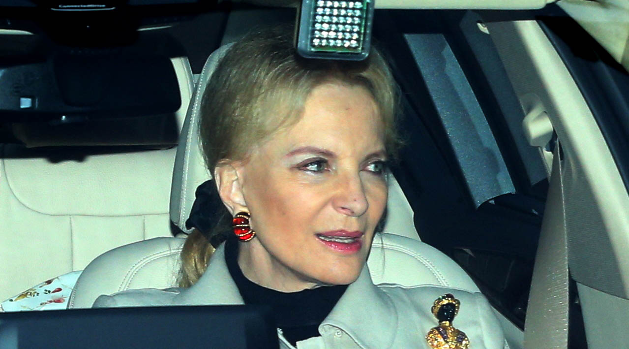 ****FILE PHOTOS** BRITISH ROYAL ISSUES APOLOGY FOR INSENSITIVE BROOCH British royal PRINCESS MICHAEL of Kent has apologised after wearing a racially insensitive brooch to a Christmas lunch attended by PRINCE HARRY and his new fiancee MEGHAN MARKLE. (MT/WNWCZM&amp;amp;WNWCSU/CM-CD)** Members of the Royal family attend the Queen's Christmas lunch at Buckingham Palace Featuring: Prince Michael of Kent, Princess Michael of Kent Where: London, United Kingdom When: 20 Dec 2017 Credit: WENN.com<p></p>