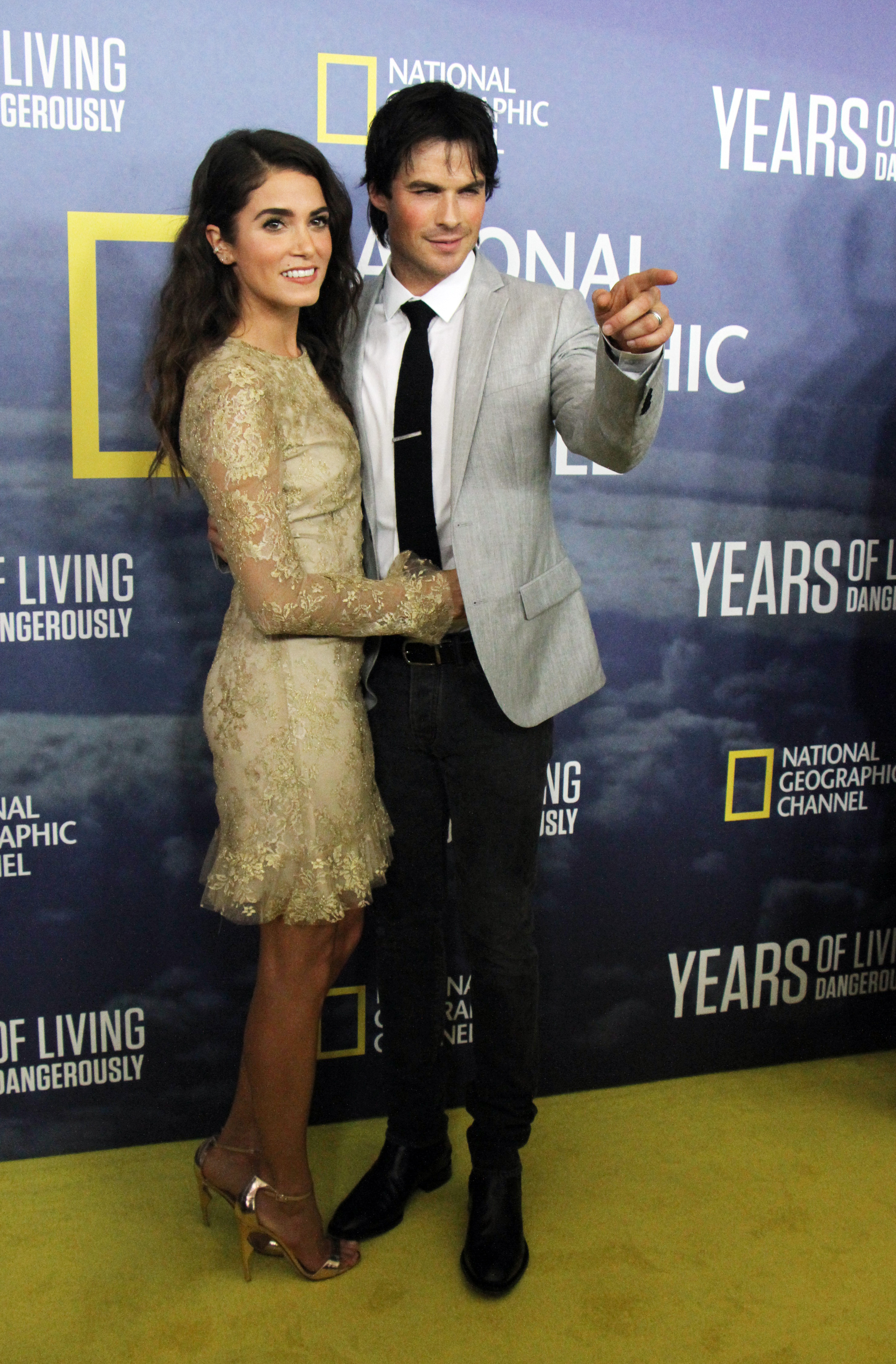 National Geographic's 'Years Of Living Dangerously' Season 2 World Premiere at American Museum of Natural History                                    Featuring: Ian Somerhalder, Nikki Reed                  Where: New York City, New York, United States                  When: 24 Sep 2016                  Credit: RWong/WENN.com