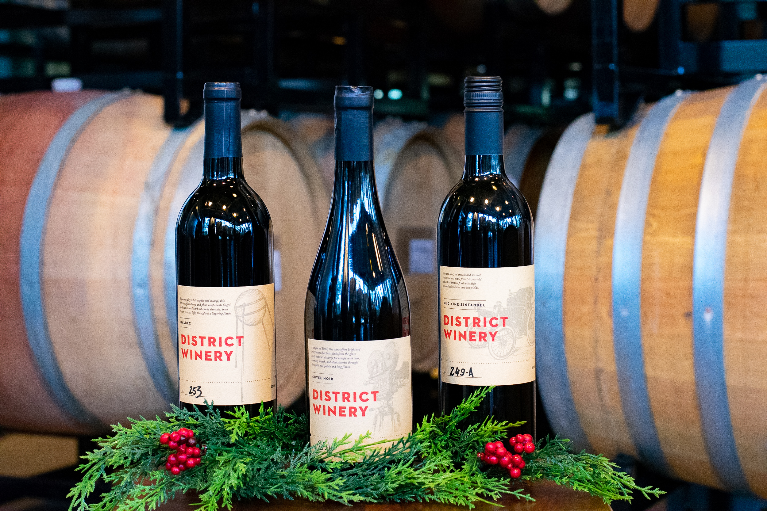 Tour and tasting from District Winery // Price: $38.50 // Buy online // https://districtwinery.com/tours // (Image: District Winery)
