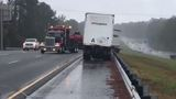 GALLERY: Rain causes accidents, delays in Middle Georgia
