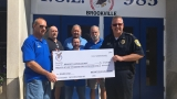 Brookville Eagles donates money for new police cruiser