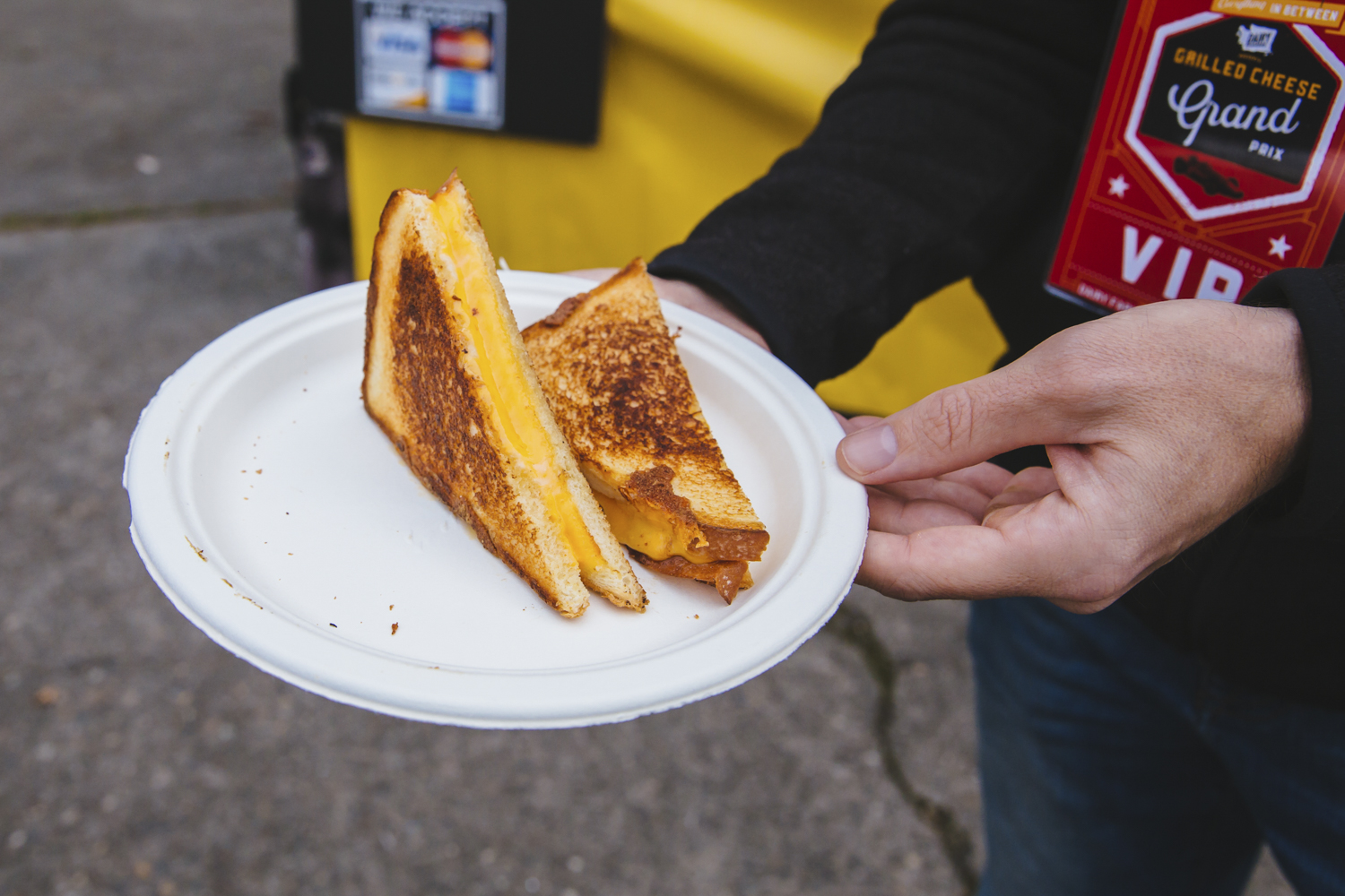 <p>&quot;O.G.&quot; from Island Grilled Cheese food truck. Seattle's annual Grilled Cheese Grand Prix event kicked off this weekend, properly celebrating April as National Grilled Cheese Month. We went, obviously (for work....) and here were the juiciest sammies on the block we could find. The good news? Pretty much all of these come from brick and mortar stores you can find any time in the city - not just April, and not just t the Grand Prix. (Image: Sunita Martini / Seattle Refined)</p>