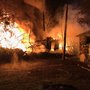 2-alarm fire burns business, home, hundreds of tires in Snohomish Co.