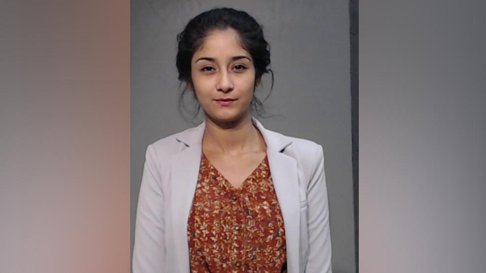 Lorena Barrera, 23, of McAllen is charged with possession with intent to distribute cocaine. (Photo courtesy of the Hidalgo County Sheriff's Office)