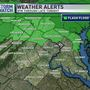 Flash Flood Watch on the way for areas of Maryland and Virginia