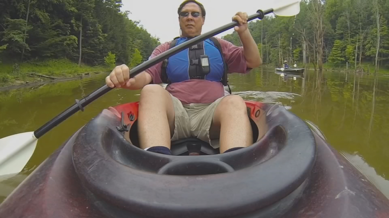 Kayaking on North Bend Lake is the most popular quest activity. (WCHS/WVAH)