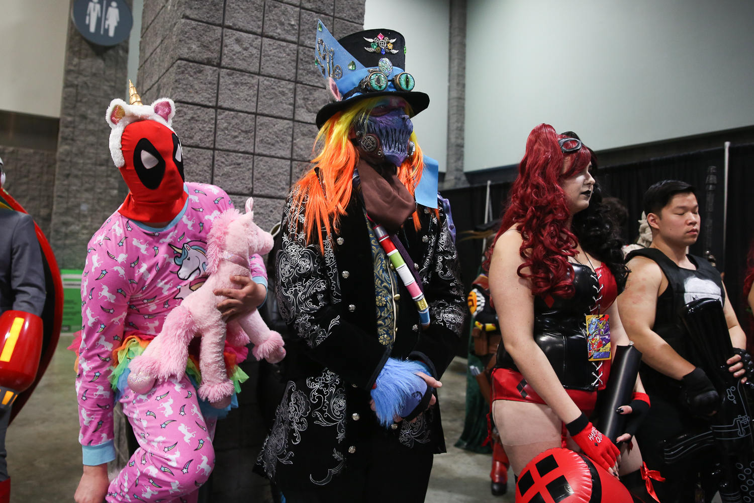 The final day of Awesome Con was a hit. Thousands of fans met their actors, tried out cosplay and bonded over their interests at the Walter E. Washington Convention Center. Here are our favorite photos from the day. (Amanda Andrade-Rhoades/DC Refined)
