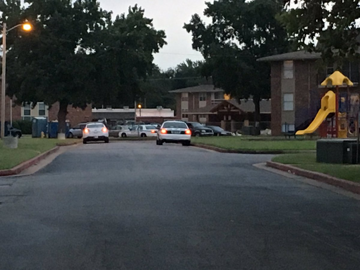 The shooting was reported around 6 a.m. at the Savanna Landing apartments near 61st and Peoria. (KTUL)