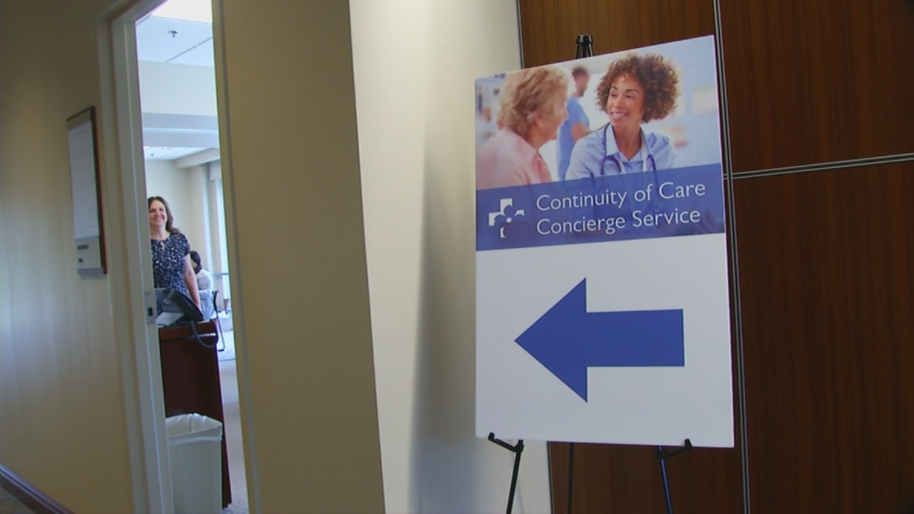 Mission and Park Ridge have set up call centers to help Blue Cross patients. (Photo credit: WLOS staff)<p></p>