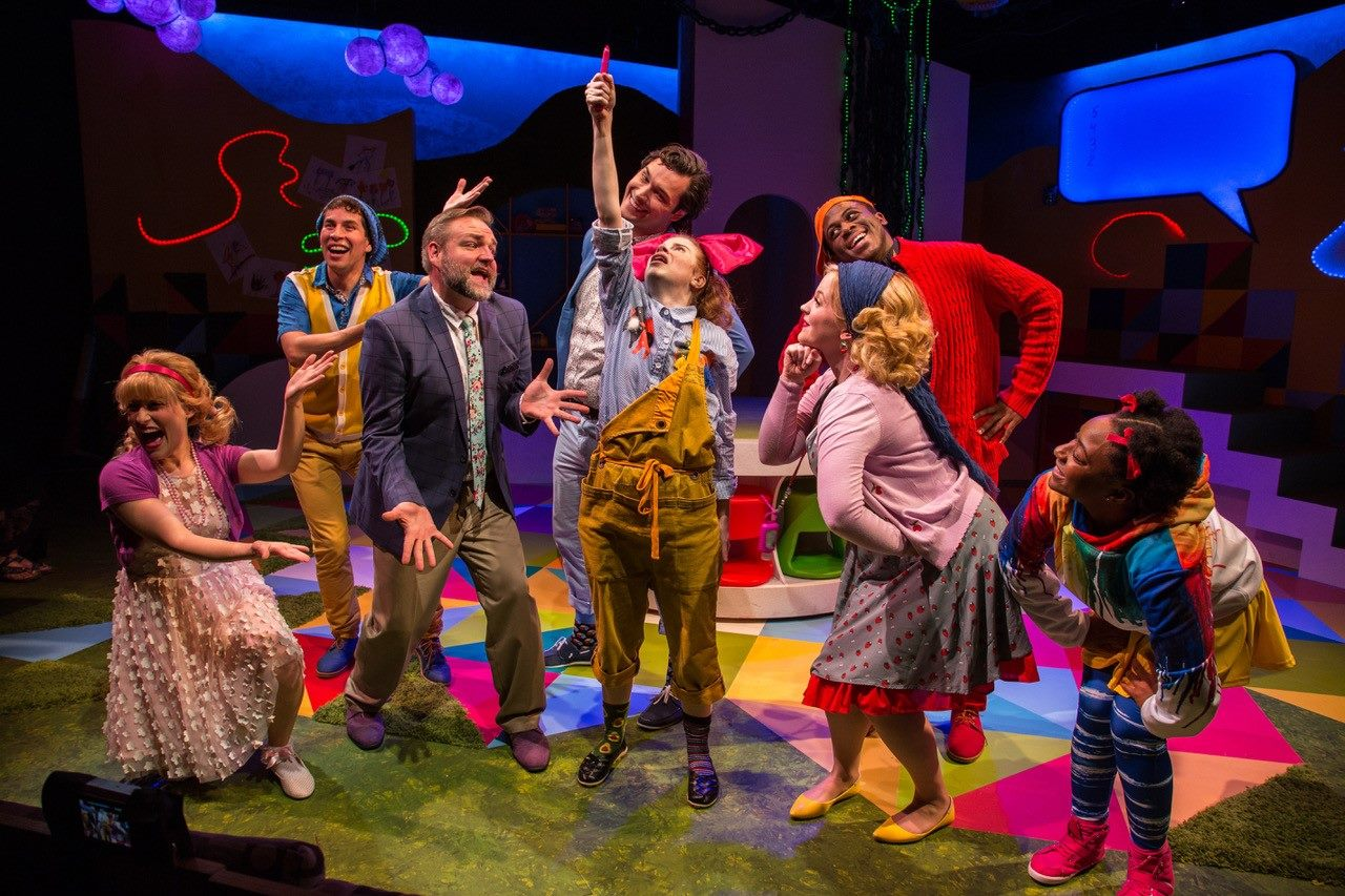 Cast of Junie B. Jones is Not a Crook, Adventure Theatre MTC. (Image: Michael Horan)