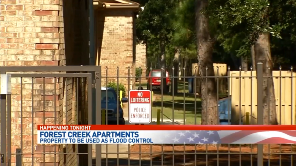 Forest Creek Apartments Property To Be Used As Flood Control Wear