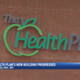 Progress continues on the Health Plan building in downtown Wheeling
