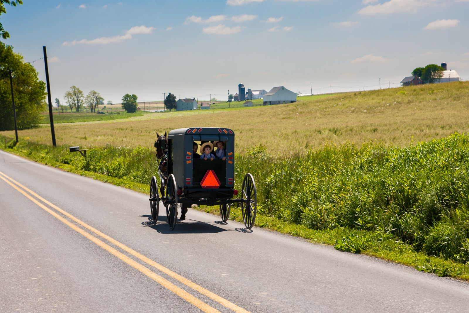 One Amish experience that was a definite must was a buggy ride tour. And I promise you won't be the only buggy on the road, since the Amish do not drive cars. Even with a few buggies, it's nothing compared to I-270 or I-66. Ah,  now this I could get used to! The driver gave us lots of information and a good look into the Amish way of life. (Image: Courtesy Discover Lancaster)