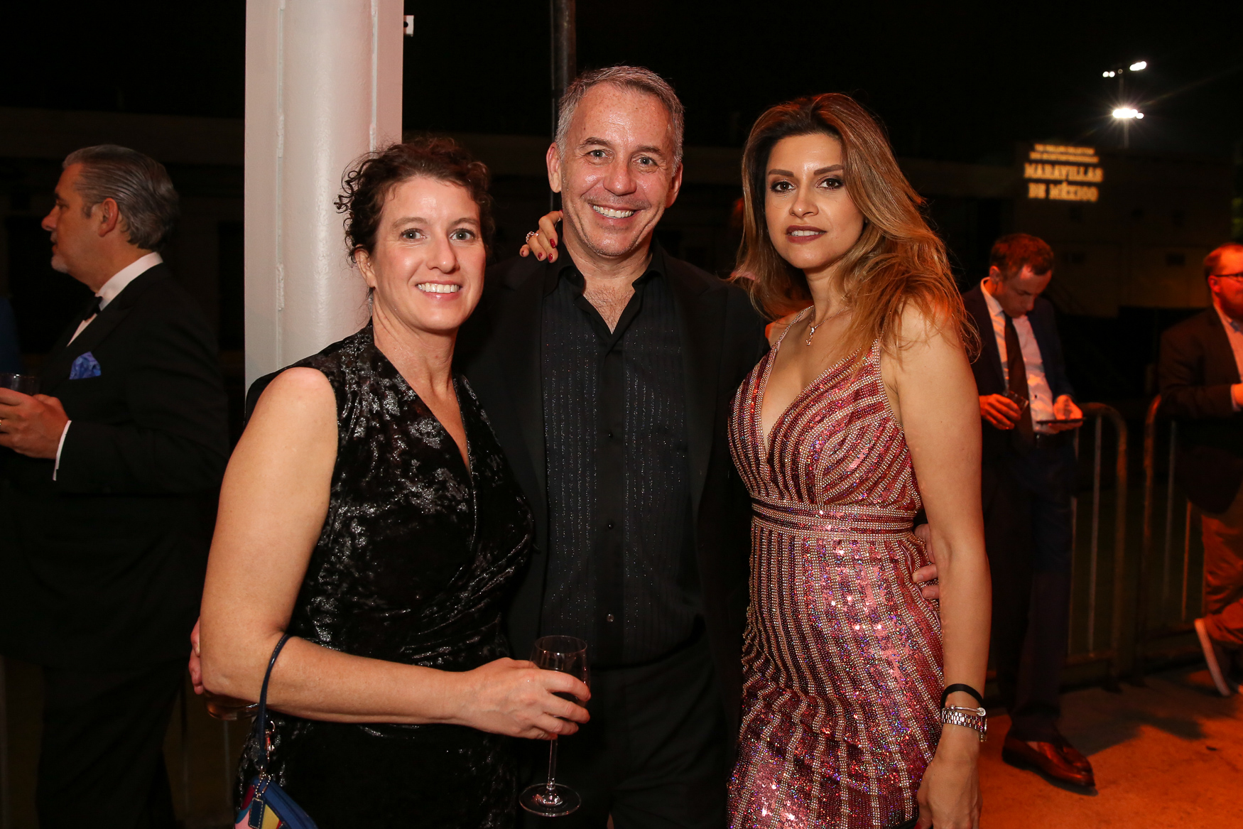 From left,{ } Jennifer Oberg, Peter Greers and Reyhan Greers. (Amanda Andrade-Rhoades/DC Refined)