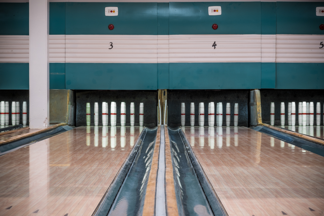 The Wyoming Civic Center, which houses the Candlepin Bowling Alley, is located at 1 Worthington Ave, Wyoming, OH 45215. / Image: Phil Armstrong, Cincinnati Refined