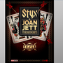 STYX and Joan Jett & the Blackhearts are headed to CNY this summer