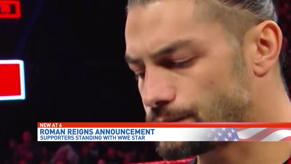 wwe producer reacts to roman reigns cancer announcement wear