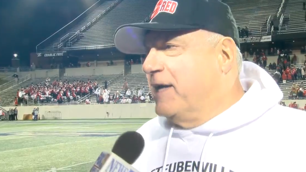 Post-game reaction from Steubenville Big Red semi-final vs. Shelby