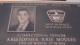 Correctional officer remembered one year after tragic death
