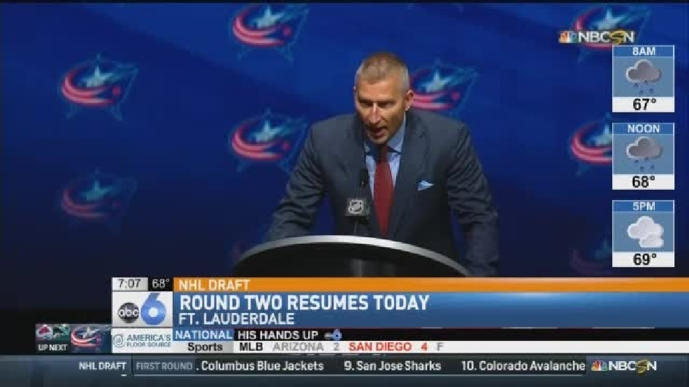 SPORTS: NHL Draft - Round Two Resumes Saturday | WTTE
