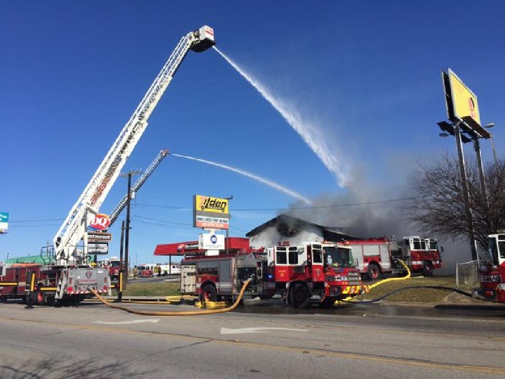 flames consume northeast side automotive shop kabb