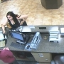 New video surveillance shows Tulsa woman robbing Mannford bank
