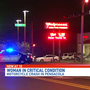 Woman suffering life-threatening injuries after motorcycle crash