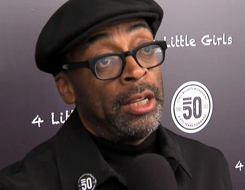 "Spike Lee at the Alabama Theatre for a special screening of the HBO documentary ""4 Little Girls."""