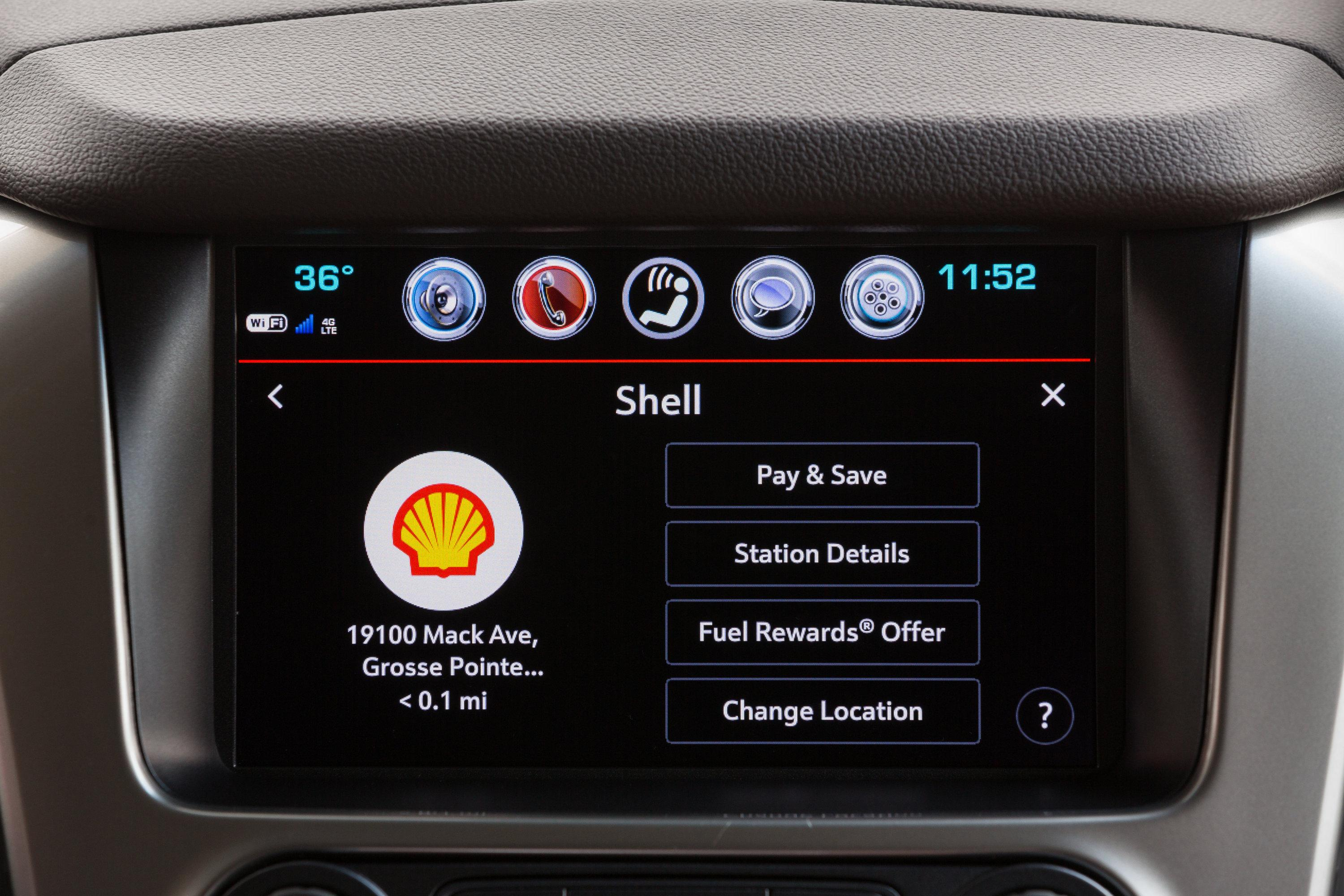 Chevrolets now available with i car payment for Shell gas