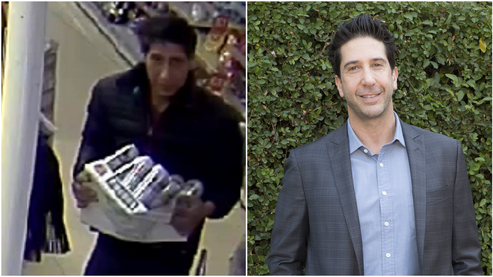 Police looking for beer thief who resembles Ross Geller