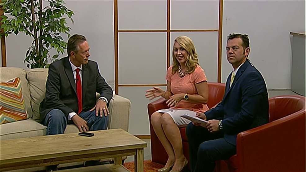 Gordon Challstrom visits News10 Good Morning   KTVL