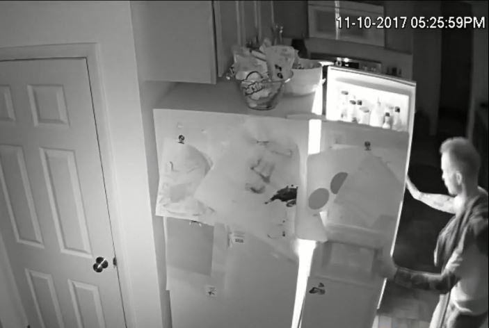 Police say home invader in Taylorsville may be part of area burglaries (Photo: Surveillance video)