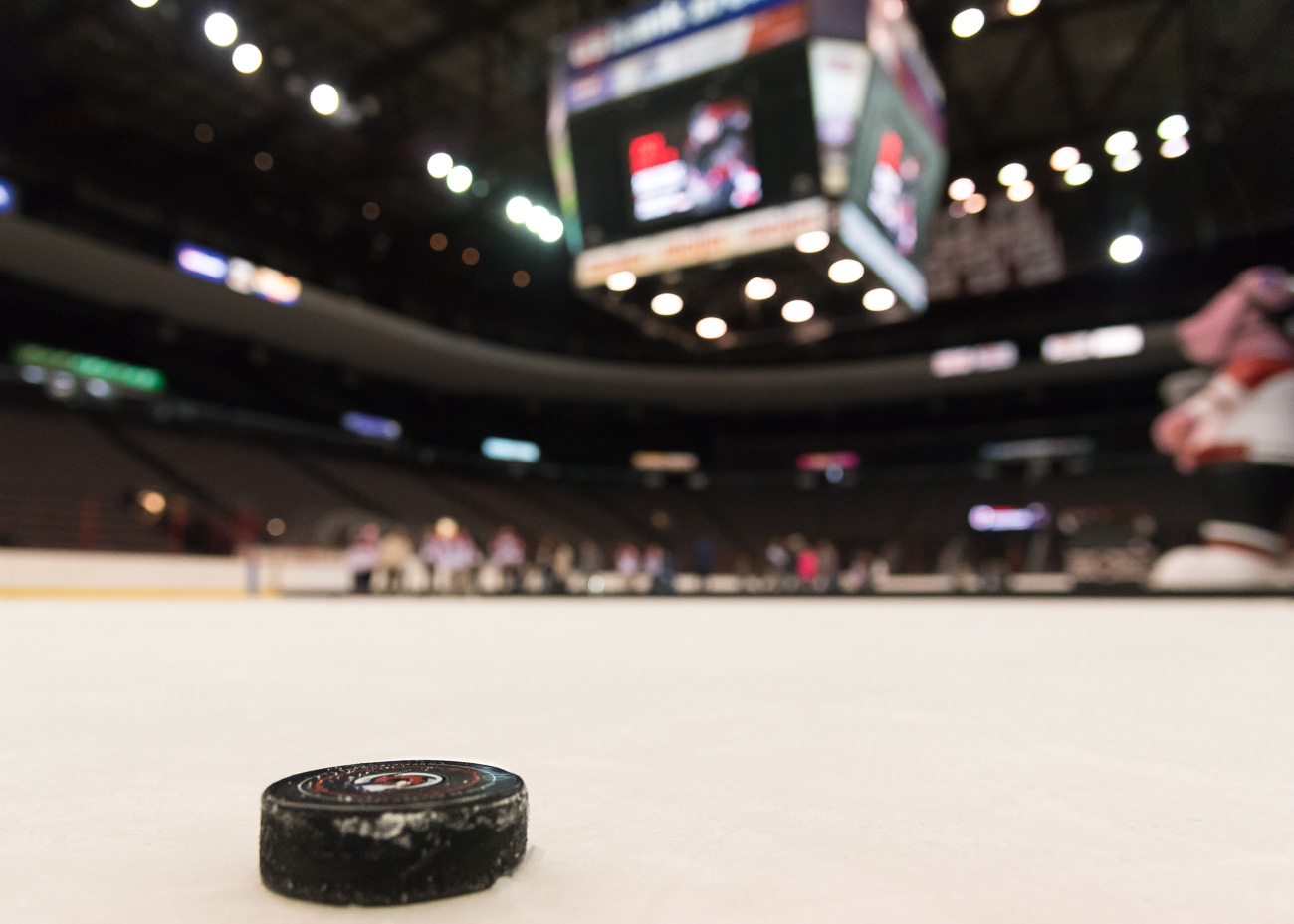 "Other events fans can expect this season are a new ""Wizarding World of Cincinnati Cyclones"" night and a ""Throwback"" weekend. January 4th and 5th will each have games with teddy bear tosses, which is when fans can bring in stuffed animals to throw onto the ice after the first goal is made. The toys are donated to the Cincinnati Police Department to comfort frightened children whom they encounter on the job. / Image: Phil Armstrong, Cincinnati Refined // Published: 10.12.18"
