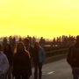 Hundreds of people trespass onto Seattle viaduct a day after it closes