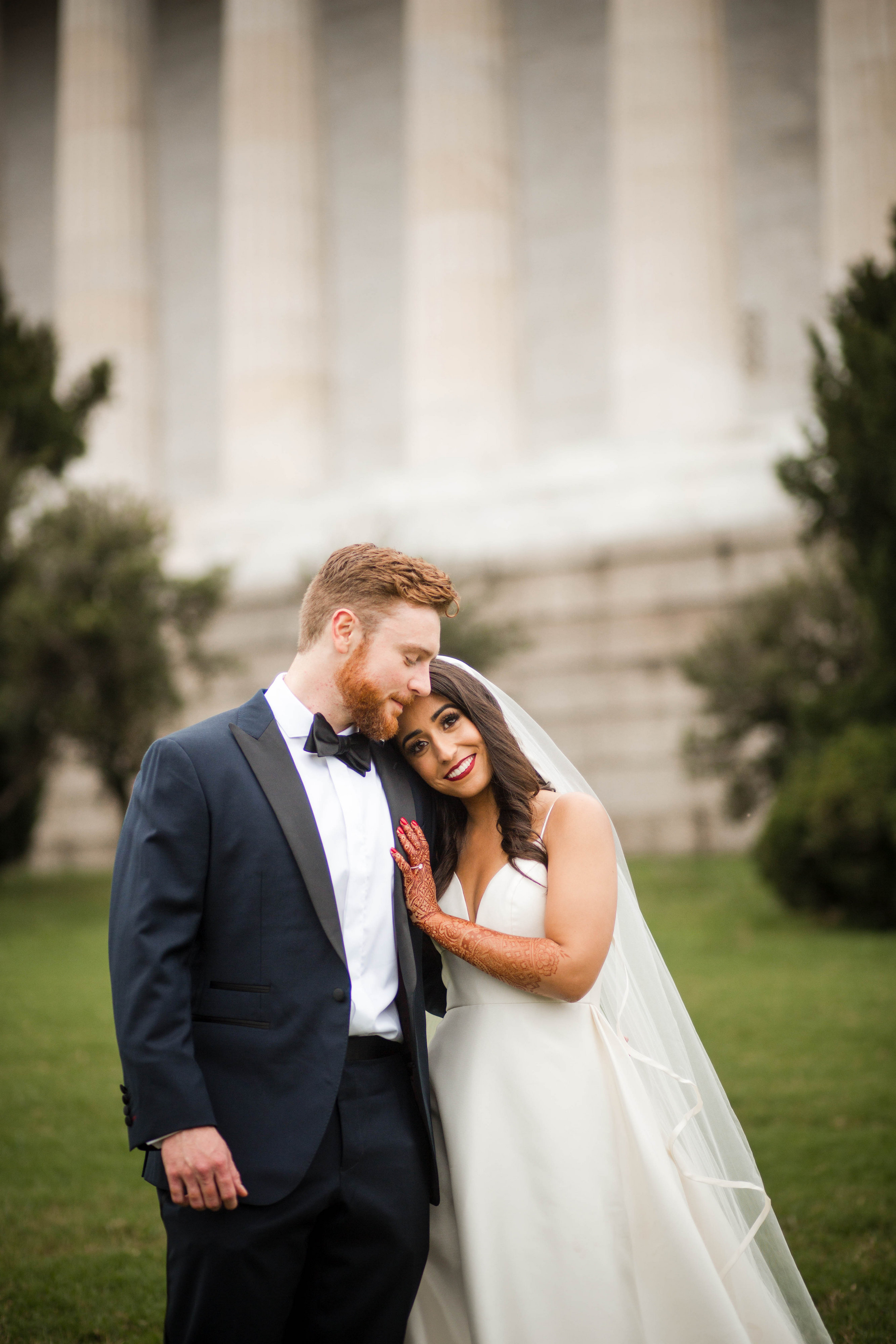 They were instantly drawn to her, and knew they would work well together on their own big day. (Image: Laura Bryan Photography){ }