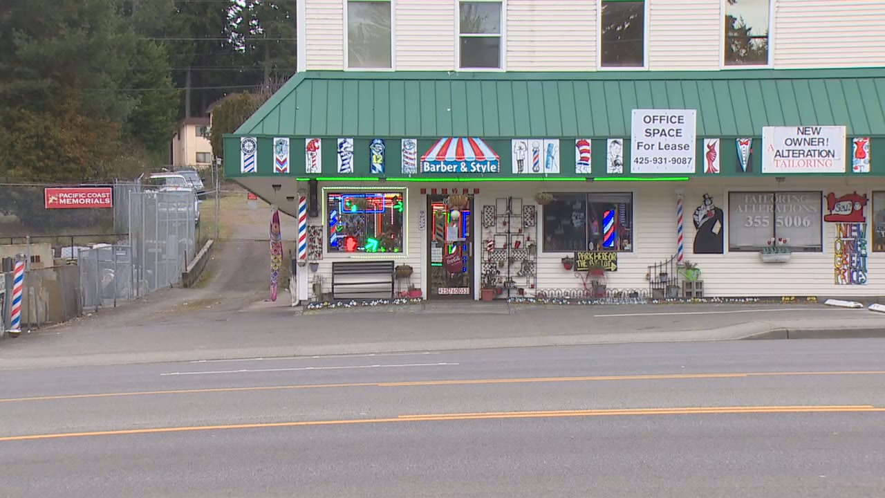 In response to crime, this barber shop in South Everett no longer ...